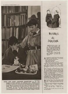 Anne Grahame Johnstone; Janet Grahame Johnstone, by Paul Tanqueray - NPG x193461