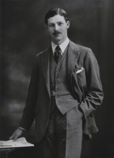 Harold Macmillan, 1st Earl of Stockton, by Bassano Ltd, for  Camera Press: London: UK - NPG x194364