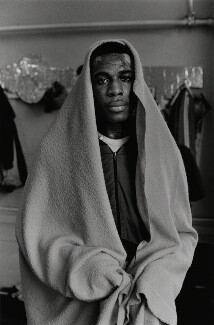Frank Bruno, by Chris Moyse - NPG x199251