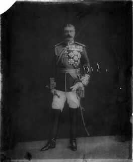 Herbert Kitchener, 1st Earl Kitchener, by Bassano Ltd - NPG x183676