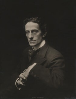 Sir Johnston Forbes-Robertson, by Ernest Walter Histed, printed by  Rotary Photographic Co Ltd - NPG x196982