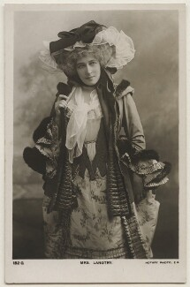 Lillie Langtry, by Lafayette, published by  Rotary Photographic Co Ltd - NPG x196989
