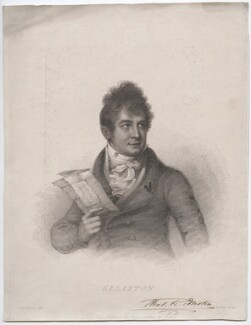 Robert William Elliston, by Anthony Cardon, published by  James Jenkins, after  William Mineard Bennett - NPG D46078