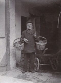 'Crabby George: 'Do 'e want a crab today zur?'' (Unknown man), by James Charles Dinham - NPG x198803