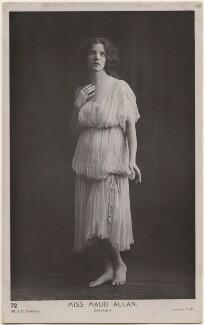 Maud Allan, by W. & D. Downey - NPG x198171