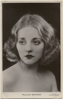 Tallulah Bankhead, by Dorothy Wilding - NPG x198178