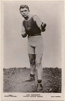Joseph ('Joe') Beckett, by Sport & General Press Agency Ltd, published by  J. Beagles & Co - NPG x198187