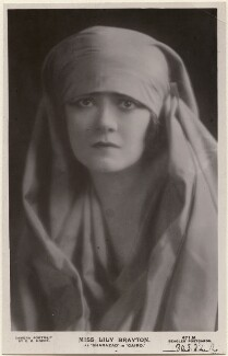 Lily Brayton as Sharazad in 'Cairo', by E.O. Hoppé, published by  J. Beagles & Co - NPG x198192