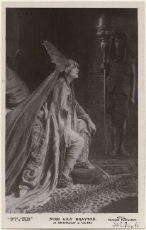 Lily Brayton as Sharazad in 'Cairo', by E.O. Hoppé, published by  J. Beagles & Co - NPG x198193