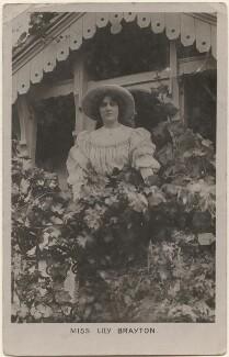 Lily Brayton, by R.W. Thompson - NPG x198194