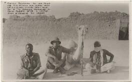Angus Buchanan with Ali and Sakari, by T.A. Glover - NPG x198196