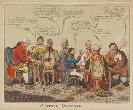 Political Quadrille, by Charles Williams, published by  Elizabeth Walker - NPG D46026