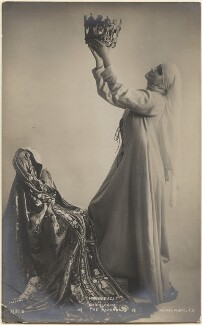 Maria Carmi as The Madonna in 'The Miracle', by E.O. Hoppé, published by  Rotary Photographic Co Ltd - NPG x198206
