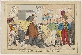 Diogenese in Search of an Honest Ministry, by Henry Heath, published by  Thomas McLean - NPG D46030