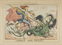 George and the Dragon, by Henry Heath, published by  John Fairburn - NPG D46032