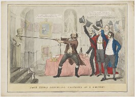 Jack Ketch Executing Sentence on a Culprit, by Henry Heath, published by  Samuel William Fores - NPG D46033