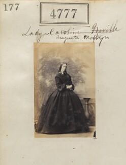 Lady (Henrietta) Augusta Lloyd-Mostyn (née Nevill), by Camille Silvy - NPG Ax54788