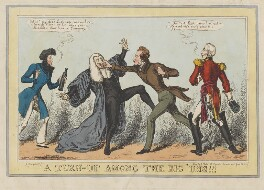 A Turn-Up among the Big 'Uns!!!, by John Phillips, published by  John Field - NPG D46041