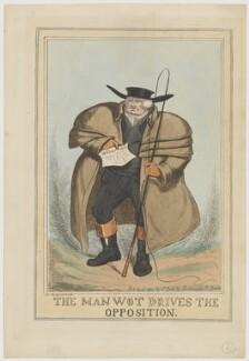 John Scott, 1st Earl of Eldon ('The Man Wot Drives the Opposition'), by John Phillips, after  S. Gans - NPG D46045