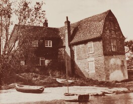 'The King's Head' (home of Adrian and Karin Stephen), by Unknown photographer - NPG Ax160778