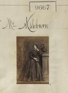 Mrs Ashburn, by Camille Silvy - NPG Ax59398