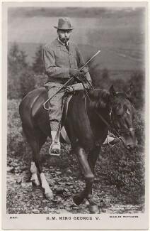 King George V, by Ernest Brooks, published by  J. Beagles & Co - NPG x196998