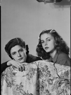 Stella Ward (née Carcano y Morra), Viscountess Ednam; Ana Inez Astor (née Carcano y Morra), by Francis Goodman - NPG x195645