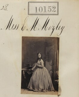 Edith Margaret Gigliucci (née Mozley), by Camille Silvy - NPG Ax59867
