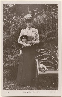 Queen Alexandra, by Frederick Ralph, published by  Rotary Photographic Co Ltd - NPG x196864