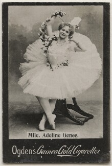 Dame Adeline Genée, published by Ogden's - NPG x196892