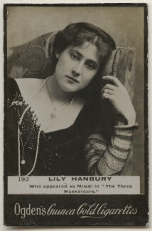 Lily Hanbury, published by Ogden's - NPG x196894