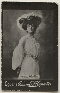 Norma Whalley (later Lady Clarke), published by Ogden's, published mid 1900s - NPG x196895 - © National Portrait Gallery, London