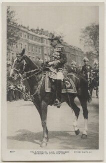 Herbert Kitchener, 1st Earl Kitchener, published by Rotary Photographic Co Ltd - NPG x196883