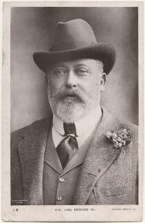 King Edward VII, by David Knights-Whittome, published by  Rotary Photographic Co Ltd - NPG x196878