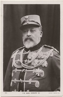 King Edward VII, by William Slade Stuart, published by  Rotary Photographic Co Ltd - NPG x196410