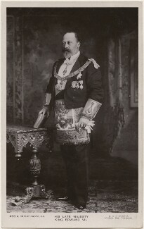 King Edward VII, by W. & D. Downey, published by  Rotary Photographic Co Ltd - NPG x196414
