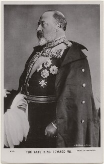 King Edward VII, by James Russell & Sons, published by  J. Beagles & Co - NPG x196427