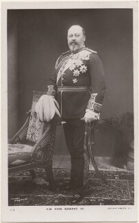 King Edward VII, by Peter Cooke, for  Gunn & Stuart, published by  Rotary Photographic Co Ltd - NPG x196429
