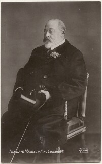 King Edward VII, by Percy Cooke, for  William Slade Stuart - NPG x196432