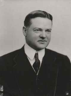 Herbert Hoover, by Langfier Ltd - NPG x194367