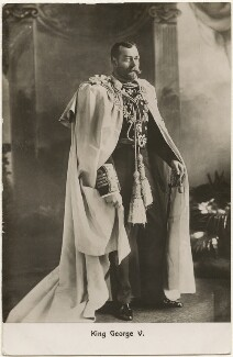 King George V, published by Misch & Co ('M. & Co.') - NPG x196458