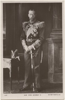 King George V, by Vandyk, published by  Rotary Photographic Co Ltd - NPG x196461
