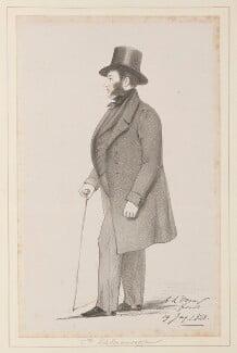 Eduard Georg Ludwig William Howe, Count von Kielmansegg, by Richard James Lane, after  Alfred, Count D'Orsay - NPG D45986