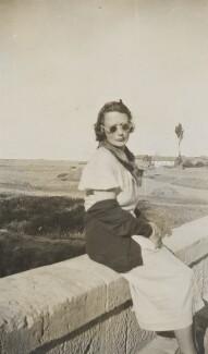 Lady Evelyn Hilda Stuart Moyne (née Erskine), by Unknown photographer - NPG Ax183111