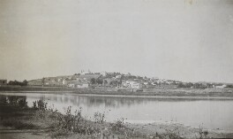 'Site of Carthage harbour', by Lady Evelyn Hilda Stuart Moyne (née Erskine) - NPG Ax183140