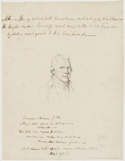 Edward Wilson, possibly after Henry Walton - NPG D46116
