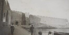 'Rhodes, the harbour', by Lady Evelyn Hilda Stuart Moyne (née Erskine) - NPG Ax183152