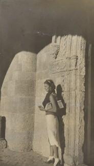 Probably Josephine ('Posy') Lee Guinness (née Strangman), by Lady Evelyn Hilda Stuart Moyne (née Erskine) - NPG Ax183164