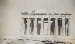 Parthenon, Greece, by Lady Evelyn Hilda Stuart Moyne (née Erskine) - NPG Ax183172