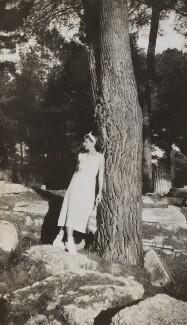 Probably Josephine ('Posy') Lee Guinness (née Strangman), by Lady Evelyn Hilda Stuart Moyne (née Erskine) - NPG Ax183200